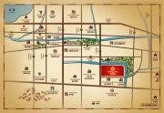 铂金府邸交通图