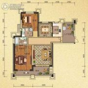 天隆三千海2室2厅2卫103平方米户型图