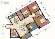 盛和雅颂3室2厅2卫0平方米户型图