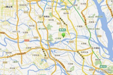 姜堰明珠御苑地图