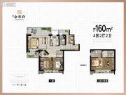 苏州泰禾金尊府0室0厅0卫160平方米户型图