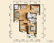 汉成华都3室2厅2卫122平方米户型图
