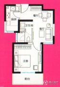 骏丰玲珑坊1室2厅1卫0平方米户型图