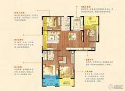 朗诗绿色街区4室2厅2卫141平方米户型图