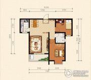 泰华城2室2厅1卫0平方米户型图