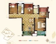弘阳春上西江4室2厅1卫89平方米户型图