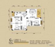 江都栋缤3室2厅2卫107平方米户型图