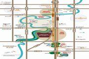 恒大天府半岛交通图