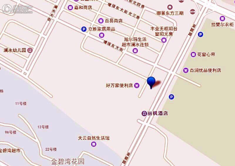 金碧公馆交通图