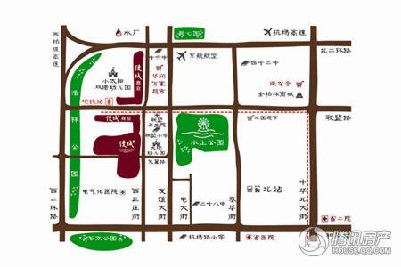 雍和慢城区位图