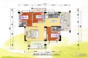新嘉雅园3室2厅3卫147平方米户型图