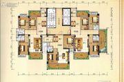 兴业花园3室2厅2卫114平方米户型图