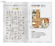 美好广场2室1厅1卫74平方米户型图