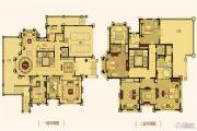 合生东郊别墅830平方米户型图