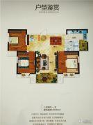 东方今典・高铁新城3室2厅1卫111平方米户型图