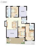 阳光100国际新城3室2厅2卫127平方米户型图
