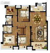 阳光城丽兹公馆3室2厅2卫130平方米户型图