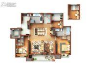 菩悦花苑4室2厅3卫0平方米户型图