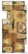 信达翰林兰庭4室2厅2卫117平方米户型图