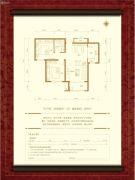 永康・上东首府2室2厅1卫89平方米户型图