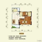 龙湖东岸丽苑3室2厅2卫113平方米户型图