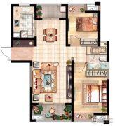 花园里2室2厅1卫0平方米户型图