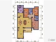 薇乐花园4室3厅2卫163平方米户型图