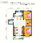 中苑名都3室2厅1卫0平方米户型图