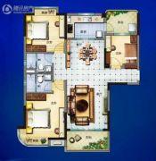 宁德碧桂园3室2厅2卫125--130平方米户型图