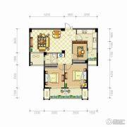 佳源・英伦都市3室2厅1卫99平方米户型图