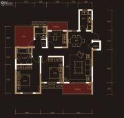 奥克斯城市之光3室2厅2卫127平方米户型图