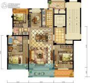 新希望・白麓城4室2厅2卫143--158平方米户型图