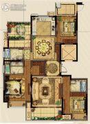 义乌新城吾悦广场3室2厅3卫0平方米户型图
