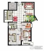 湖光山色2室2厅1卫0平方米户型图