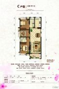 东方星城3室2厅2卫89--129平方米户型图