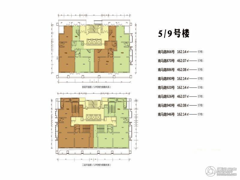 > 九州国际南马路金街户型图