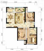 旷远・洋湖18克拉3室2厅2卫112平方米户型图