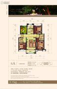 纳里印象3室2厅2卫120平方米户型图