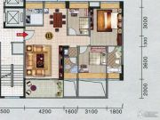 红棉雅苑3室2厅2卫105平方米户型图