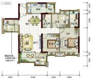 时代倾城5室2厅2卫120平方米户型图