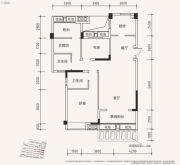 天立・学府华庭3室2厅2卫101平方米户型图