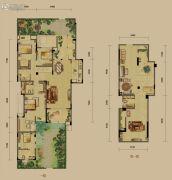 龙湖源著4室2厅2卫155平方米户型图