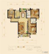 幸福天地3室2厅1卫0平方米户型图