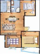 紫玉城3室1厅1卫0平方米户型图