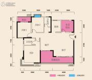 在水一方3室2厅2卫141平方米户型图