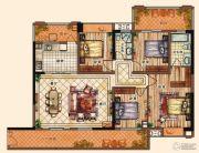 充耀盛荟4室2厅2卫159平方米户型图