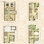金辉城江城著4室3厅3卫315平方米户型图
