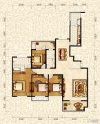 和昌・国际城4室2厅2卫200平方米户型图