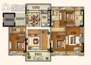 碧桂园欧洲城4室2厅2卫142平方米户型图