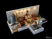 太白山水1室1厅1卫0平方米户型图